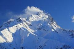 Panorama del Hils, Les Deux Alpes, Francia, francese Fotografia Stock
