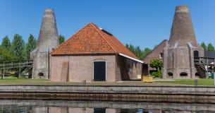 Panorama del horno de cal histórico en el centro de Hasselt Imagen de archivo libre de regalías