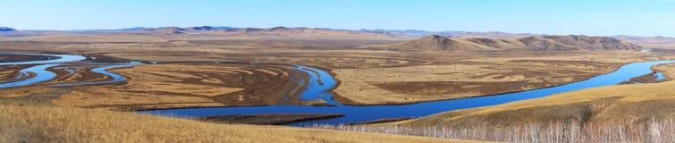 Panorama del Inner Mongolia fotografie stock
