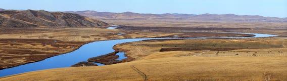 Panorama del Inner Mongolia fotografie stock libere da diritti