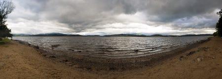 Panorama del lago Foto de archivo