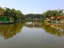Panorama del lago fotografía de archivo libre de regalías