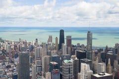 Panorama del lago Michigan de la torre de Chicago Fotografía de archivo libre de regalías