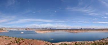 Panorama del lago Powell Imagen de archivo libre de regalías