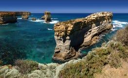 Panorama del litorale del naufragio, Australia Fotografia Stock