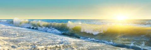 Panorama del mar Fotografía de archivo