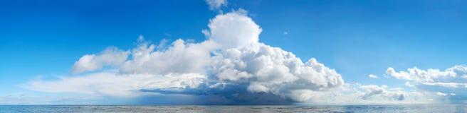 Panorama del mare Fotografia Stock Libera da Diritti