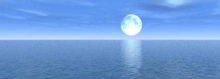 Panorama del mare fotografie stock libere da diritti