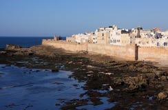 Panorama del Marocco Essaouira Immagini Stock