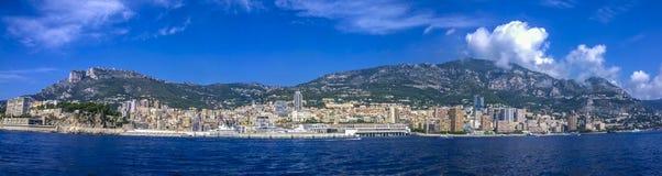 Panorama del Monaco Immagini Stock