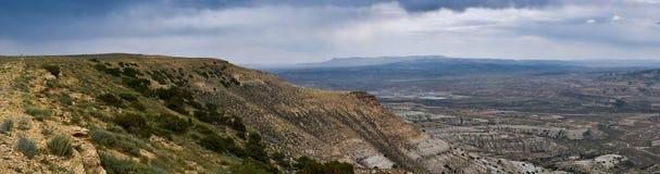 Panorama del Montana Fotografie Stock Libere da Diritti