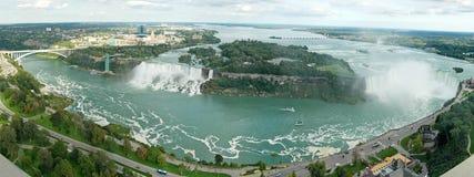 Panorama del Niagara fotografia stock