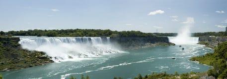 Panorama del Niagara Fotografia Stock Libera da Diritti