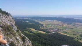Panorama del Niederösterreich dell'alta parete Immagine Stock Libera da Diritti