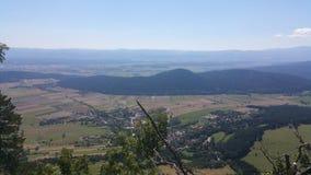Panorama del Niederösterreich dell'alta parete Fotografia Stock Libera da Diritti