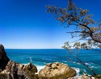 panorama del nord dell'isola di 25X20 Stradbroke Immagine Stock Libera da Diritti