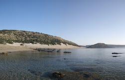 Panorama del norte 02 de Chipre Karpazi Fotografía de archivo