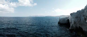 Panorama del océano Imagen de archivo libre de regalías