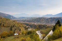 Panorama del otoño Imagenes de archivo