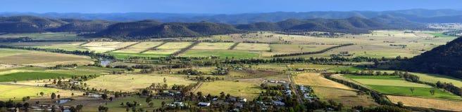 Panorama del país Foto de archivo libre de regalías