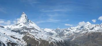 Panorama del paesaggio dello svizzero Fotografie Stock