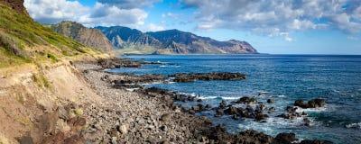 Panorama del paesaggio del punto di Kaena Fotografia Stock Libera da Diritti