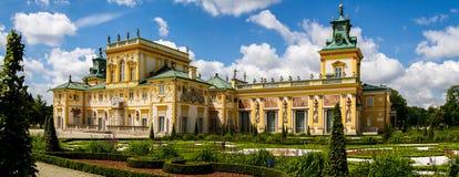 Panorama del palacio Fotos de archivo