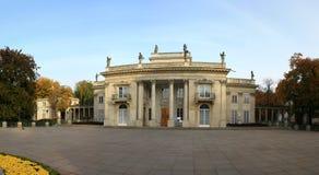 Panorama del palazzo reale fotografie stock