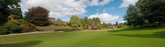Panorama del parco Fotografia Stock Libera da Diritti