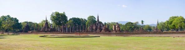 Panorama del parco storico della città di Sukhothai thailand immagini stock