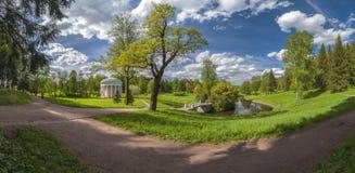 Panorama del parque Foto de archivo