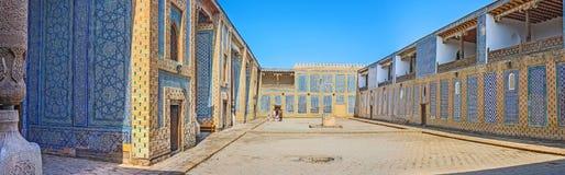 Panorama del patio del palacio Imagen de archivo