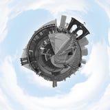Panorama del planeta de NYC Imagenes de archivo