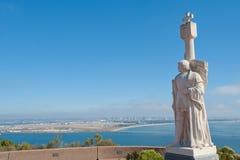 Panorama del Point Loma Fotos de archivo libres de regalías