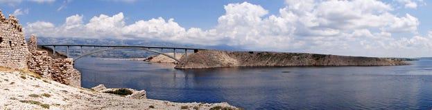 Panorama del ponticello Fotografia Stock