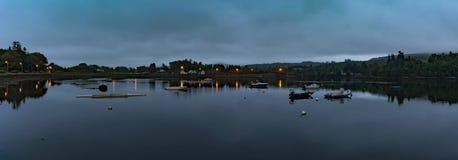 Panorama del porto di Kenmare Fotografia Stock