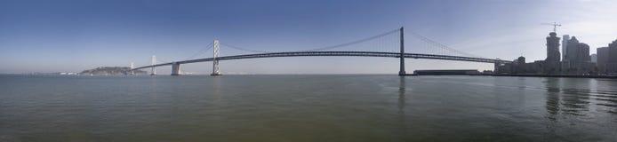 Panorama del puente de la bahía foto de archivo