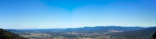 Panorama del Queensland Australia della gamma di D Aguilar immagine stock