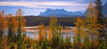 Panorama del río del arco Imagen de archivo libre de regalías