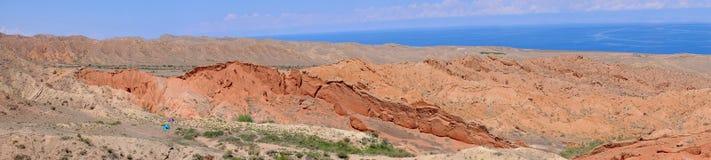 Panorama del racconto del canyon immagine stock libera da diritti