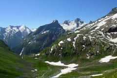 Panorama del rango de montaña Imagen de archivo