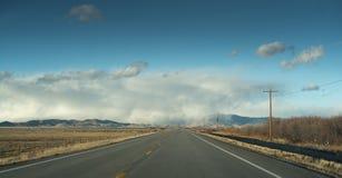 Panorama del raod di Colorado Fotografie Stock Libere da Diritti