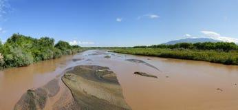 Panorama del Rio Grande Fotografia Stock