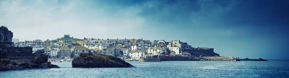 Panorama del St Ives Foto de archivo