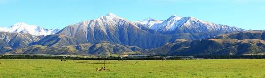 Panorama del sud delle alpi Fotografia Stock