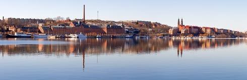 Panorama del sur de Estocolmo. Fotografía de archivo libre de regalías