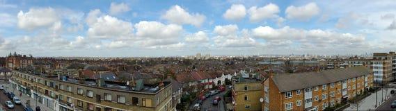 Panorama del sur de Londres - de Brixton Imágenes de archivo libres de regalías