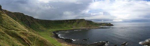 Panorama del terraplén del gigante imagen de archivo libre de regalías