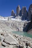 Panorama del Torres del Paine. Fotografia Stock Libera da Diritti