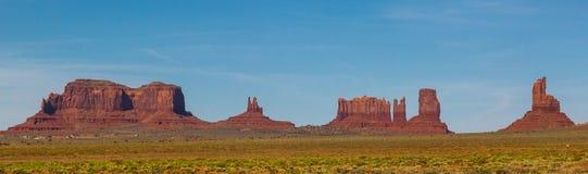Panorama del valle del monumento Foto de archivo